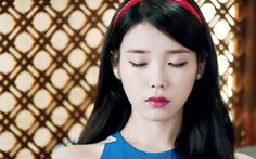 IU is literally Snow White