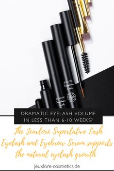 Dramatic eyelash volume in less than weeks? The Jeuxloré Superlative Lash Eyelash and Eyebrow Serum supports the natural eyelash growth Eyebrow Serum, Eyebrow Kits, Eyebrow Tinting, 3d Eyelash Extensions, Eyelash Curler, Natural Eyelash Growth, Eyebrow Makeup Products, Makeup Tips, Tips For Oily Skin