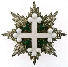 Placca di Cavaliere di Gran Croce dell'Ordine dei Santi Maurizio e Lazzaro