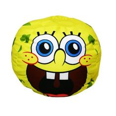 Nickelodeon SpongeBob Laughing Bean Bag, Blue (Discontinued by Manufacturer) Monster Jam Toys, Blue And Yellow Living Room, Bean Bag Furniture, Foster Home For Imaginary Friends, Nickelodeon Spongebob, Christmas Gift Decorations, Rugrats, Spongebob Squarepants, Blue Bags