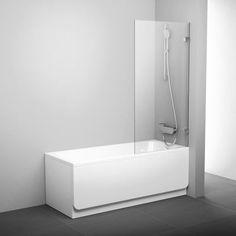 - szerokość: 80 cm- wysokość: 150 cm- ścianka wannowa stała- wariant uniwersalny: lewy/prawy po obróceniu w trakcie montażu o 180⁰- szkło o grubości 8 mm z powłoką AntiCalc- możliwość regulacji w uchwytach mocujących do 1.5 cm- do wanien prostokątnych z równą górną ... Sweet Home, Bathtub, Satin, House Design, Bright, Bathroom, Vany, Architecture, Kitchen