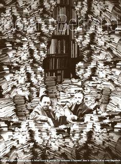 Julien Gracq with Albert Camus