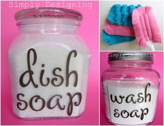 Simply Designing with Ashley: 3 Fabulous DIY Cleaning Products You Must Make Diy Cleaners, Cleaners Homemade, Household Cleaners, Household Tips, Homemade Cleaning Supplies, Cleaning Hacks, Homemade Products, Diy Products, Cleaning Solutions