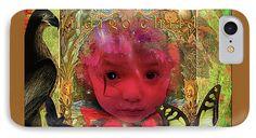 Pseudoscientific IPhone 7 Case featuring the digital art Indigo Child by Joseph Mosley