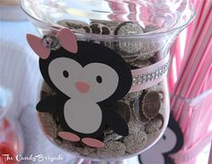 Penguin Themed Party - Candy Table by The Candy Brigade