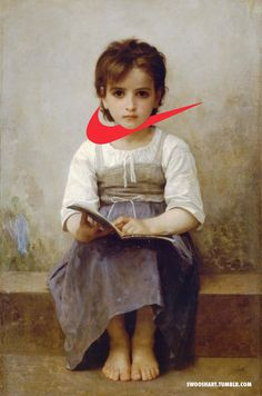 Nike's Swoosh Invades The Elevated Realm Of 18th & 19th Century Paintings   Yatzer