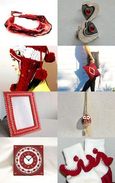 Getting red  by Lina Rekl on Etsy--Pinned with TreasuryPin.com