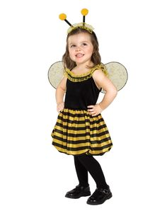 """""""Bumblebee"""" Queen Bee Toddler Costume"""