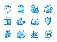 Men's Health Icons by Nick Slater - Dribbble