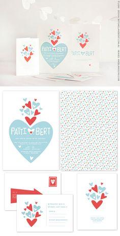 Wedding stationary ||| #wedding #stationary #invitation #graphic #design