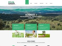 This amazing theme for environmental protection agencies looks really cool…