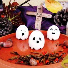 Fantasmini e mostri di Halloween. Condivisa da: http://blog.giallozafferano.it/lauraricette