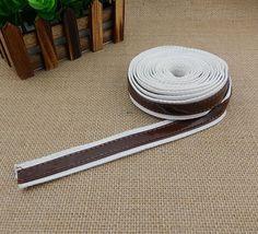 2cm Width Korea Ribbon Sewing Canvas For Bag Strap, Cotton Ribbon For Handbag Handles, Ribbon Shoulder Bag Strap, Sold by Continuous Yard