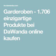 Garderoben - 1.706 einzigartige Produkte bei DaWanda online kaufen