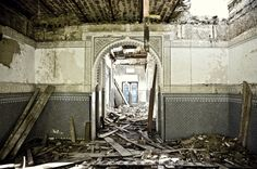 Villa, Architecture, Building, Travel, Club, Tangier, Ruins, Places, Photography