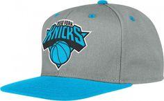 Knicks Neon Snapback Hat [Blue]
