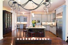 a new home kitchen that i designed in the hamilton mill area outside of atlanta, design d cor, kitchens, View from the nook area Photography BeezEyeViewPhotography com