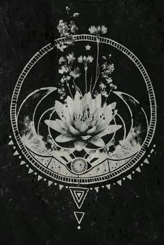 Sacred geometry lotus