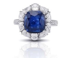 Blue Sapphire Rings, Cocktail Rings, Engagement Rings, Cushion Cut, Jewels, Enagement Rings, Wedding Rings, Bijoux, Commitment Rings