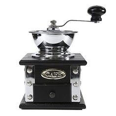 Toyofmine Manual Coffee grinder Household Coffee Mill,Bean Mill,Simple Option to Gain *** More info could be found at the image url. #CoffeeGrinders