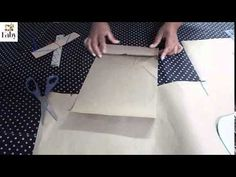 como traçar uma saia  simples básica 1