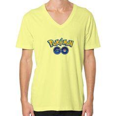Pokemon GO V-Neck (on man) shirt