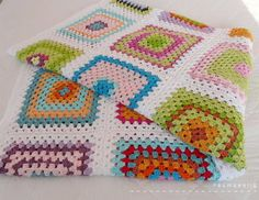 great Granny Square Tutorial by raumseeling (in german language)