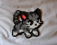 Image result for perler kitten