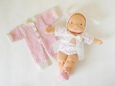 cute baby waldorf doll