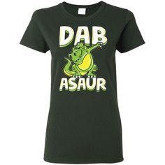 620a5d59dbe56 Dab Asaur Dabbing T-rex Dinosaur Shirt