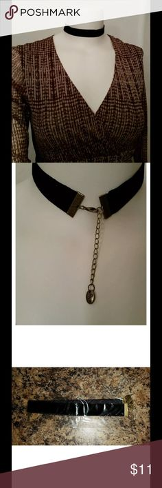 """WOMENS RN BRAND 12"""" CHOKER NIP Thank you for viewing my listing, for sale is a women's / ladies, 12 inch long, black, choker  this costume jewelry, does have a metal clip in the back. Very pretty, very sexy would be the great Final Touch on a cute dress or skirt.   NIP   Brand: RN   If you have any questions or would like additional photos please feel free to ask   * the shirt in the photo is not included You are buying only the choker only * RN Accessories"""