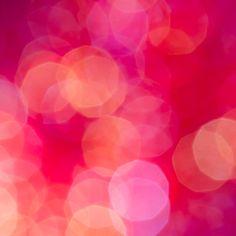 Fizz Abstract bokeh photography by Jan Bickerton. #bokeh #pink