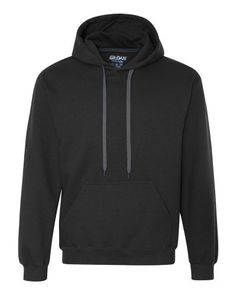 A jersey-lined hood makes this sweatshirt the perfect choice for chillier days.