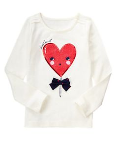 FUN AY HEART Sweetheart Tee (size 6)