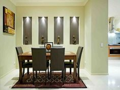 Cream dining room idea from a real Australian home - Dining Room photo 484941
