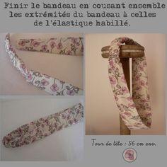Tuto #4 - Atelier couture : Le bandeau