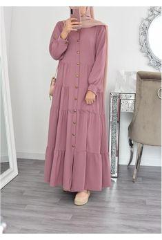 Modest Fashion Hijab, Modern Hijab Fashion, Muslim Women Fashion, Hijab Fashion Inspiration, Islamic Fashion, Abaya Fashion, Mode Inspiration, Fashion Dresses, Hijab Chic