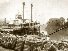 Cotton bales were piled along the wharf in Montgomery and stored in the warehouses that fronted the Alabama River.