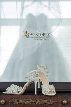 wedding shoes  Orlando wedding photographer  LoveStorey Photography