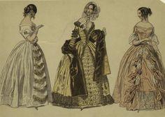 Znalezione obrazy dla zapytania moda 1850 r