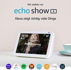 zu hause ohne geräte Introducing Echo Show 8 Alexa App, Alexa Echo, Smart Tv, Smart Home, Sports Scores, Interactive Display, News Highlights, Audio, Tecnologia