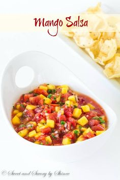 Bursting with delicious summer flavors, this mango salsa comes together in less than 10 minutes with only handful of ingredients!