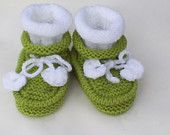 Baby slippers, knitted baby shoes, baby knitted booties, knitted baby shoes, girl boy booties, knit slippers comfortable
