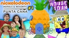 SPONGEBOB HOUSE TOUR in REAL LIFE! Nickelodeon Suites Resort Pineapple Villa w/ FUNnel Vision Fam - YouTube.hola