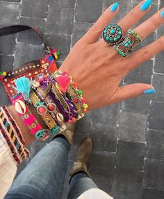 Bohemian gypsy jewelry – Just Trendy Girls Bohemian Jewellery, Gypsy Jewelry, Beaded Jewelry, Jewelry Box, Women Jewelry, Bohemian Gypsy, Gypsy Style, Boho Style, Trendy Accessories