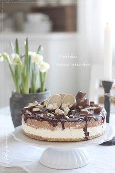 kinder dort, pečení, velikonoční, čokoládový dort