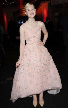 Celebrity Red Carpet Style   Elle Fanning