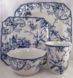 Dinnerware, Teacup & Saucer Set