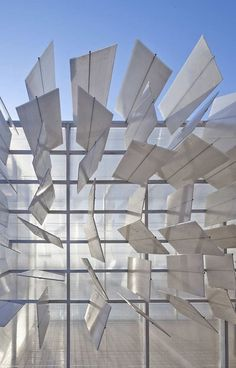 ONE DESIGN INC / BING BU, CLOUD ROOM: a travelling installation from 2011. originally on the terrace of the national art museum of china, beijing.
