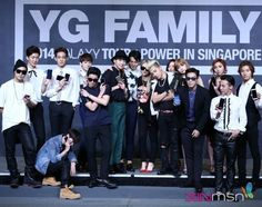 Big Bang, Winner, 2ne1, Epik High | YG Family Power Tour in Singapore Press Conference 140912